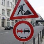 Ueberholverbot für Kraftfahrzeuge aller Art wird belaechelt