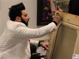 Unterschrift Glööckler Harald signiert Bilder Sakko Gemälde Mode Bilder Wohnung Berlin Mensing