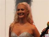 Valentina Barbor Gesicht face Promi Neues Palais Communs Mopke Buehne Zuschauer Schloessernacht Potsdam Schlosspark