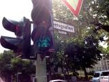 #Verkehrsampel malen nach Zahlen und Farben