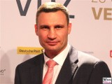 Vitali Klitschko Gesicht face Kopf Publishers Night Goldene Victoria Verleger Hauptstadtrepräsentanz Telekom Berichterstatter