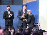 Ingo Nommsen Vitali Klitschko Martin Schulz Preis Publishers Night Goldene Victoria Verleger Hauptstadtrepräsentanz Telekom Berichterstatter
