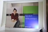 Werbung im Microsoft Center Office Eroeffnung Eatery Charlottenstrasse Unter den Linden Berlin