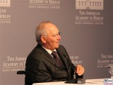 Wolfgang Schäuble 2014 Henry A. Kissinger Prize The American Academy in Berlin