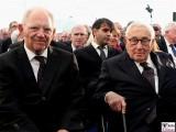 Wolfgang Schaeuble, Henry-Kissinger-Gesicht-face-Kopf-Promi-Kissinger-Prize-American-Academy-Berlin-Wannsee