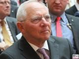 Wolfgang Schaeuble MdB Gesicht face Kopf Portrait Deutsche Telekom Hauptstadtrepräsentanz Ludwig-Ehrhard-Preis Wirtschaftspublizistik Berlin Berichterstatter