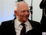 Wolfgang Schaeuble laechelt Gesicht-face-Kopf-Promi-Kissinger-Prize-American-Academy-Berlin-Wannsee