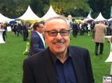 Wolfgang Stumph, Stumpi Gesicht Kopf Promi Buergerfest Schloss Garten Bellevue Ehrenamt Berlin Bundespraesident Tag der offenen Tuer Berichterstatter