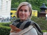 Wolke Hegenbarth Gesicht Face Kopf Amnesty Deutschland Verleihung Menschenrechtspreis Maxim Gorki Theater Berlin