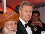 Youssef al-Alawi Abdullah, Christian Wulff Gesicht Promi Kopf Semperopernball Dresden Theaterplatz Opernball Semperoper