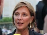Yvonne Gebauer Gesicht Promi NRW Ministerin für Schule und Bildung des Landes Nordrhein-Westfalen Sommerfest 2019 Berlin Botschaft Berichterstattung Trendjam