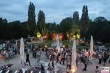 am Tropenhaus Botanische Nacht Botanischer Garten Museum Sommernacht Berlin Dahlem Steglitz karibische Sommernacht Berichterstatter