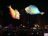 fliegende Fische Berlin leuchtet Lichterfest Potsdamer Platz