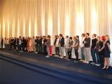 gesamtes Filmteam Premiere Koenig von Deutschland Berlin Kino International Karl Marx Allee