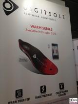 ioT Digitsole Warm Series Sohle Heizung Schuh Internet der Dinge IFA Messe Berlin Funkausstellung