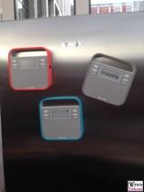 ioT invoxia Kuehlschrank magnete mit schrif nachricht vom smartphone showstopper IFA Messe Berlin Funkausstellung