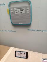 ioT invoxia Kuehlschrank magnete mit schrift nachricht vom smartphone showstopper IFA Messe Berlin Funkausstellung