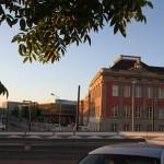 stadtschloss potsdam schloss wiederaufbau baustelle steuben platz cam neuer Landtag Sonne